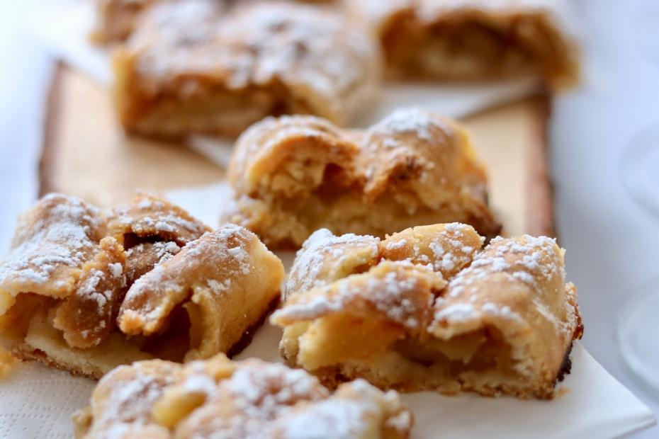 Zcela netradiční: Jablečný závin z tortilly!