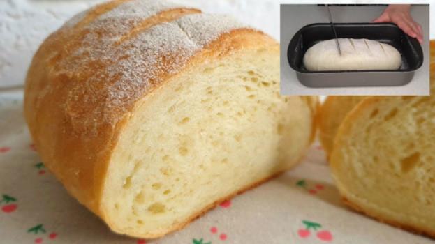 Dokonalý, rychlý recept na domácí chlebíček