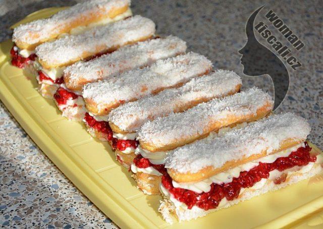 V tomto horku nepečte koláče ani dorty.Stačí jen 5 minut a tento studený dezert můžete podávat. Je lepší než zmrzlina !