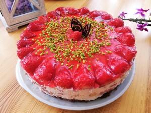 Jahodový dort s Mascarpone na italský způsob
