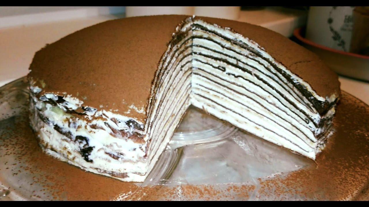 Jak připravit palačinkový dort