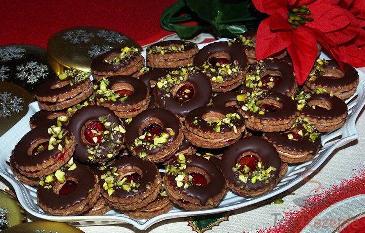 Brabantské oříškové dortíčky