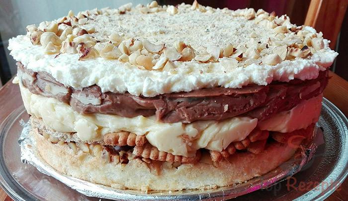 Vynikající MONTE dort