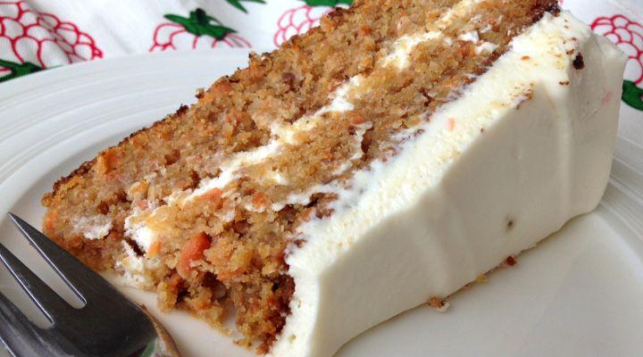 Vláčný mrkvový dort – jednoduchý a fantastický