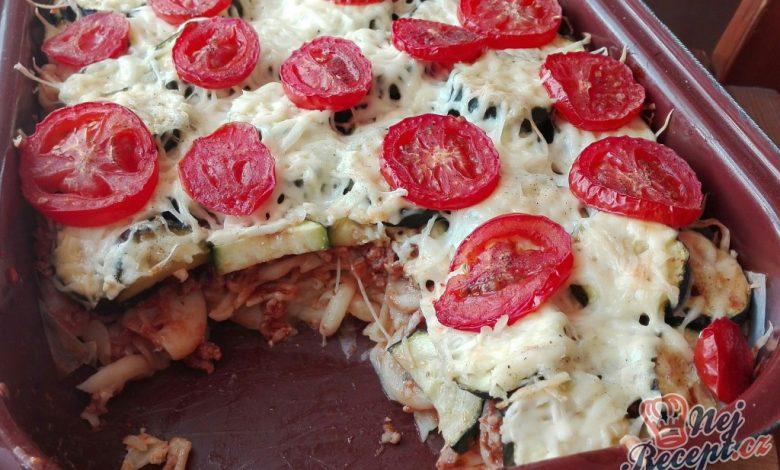 Líné lasagne – cuketová dobrota