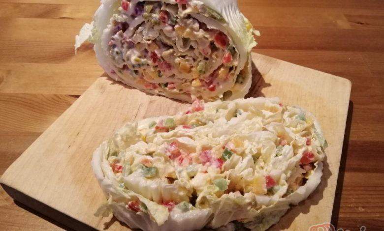 Fantastická chuťovka namísto chlebíčků – plněné čínské zelí