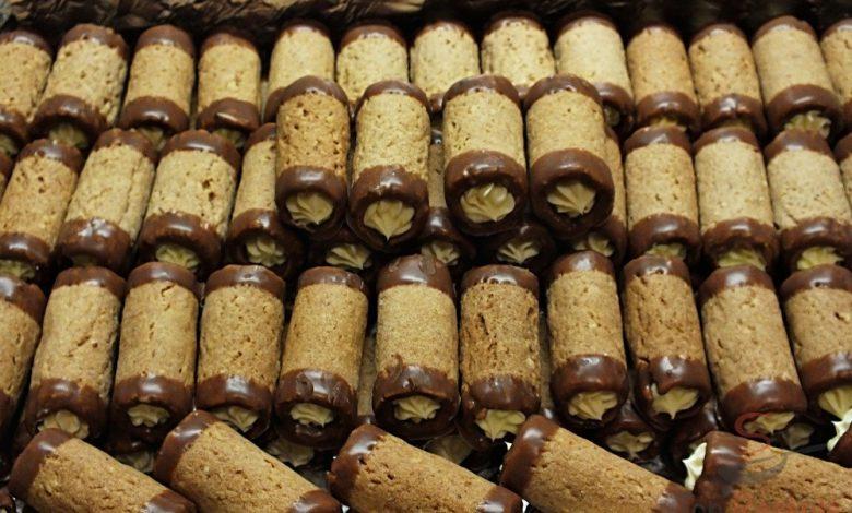 Ořechové vánoční trubičky