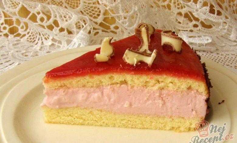 Rybízový dort od Romči