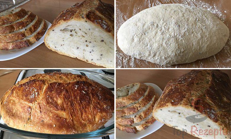 Zázračný chlebíček bez hnětení