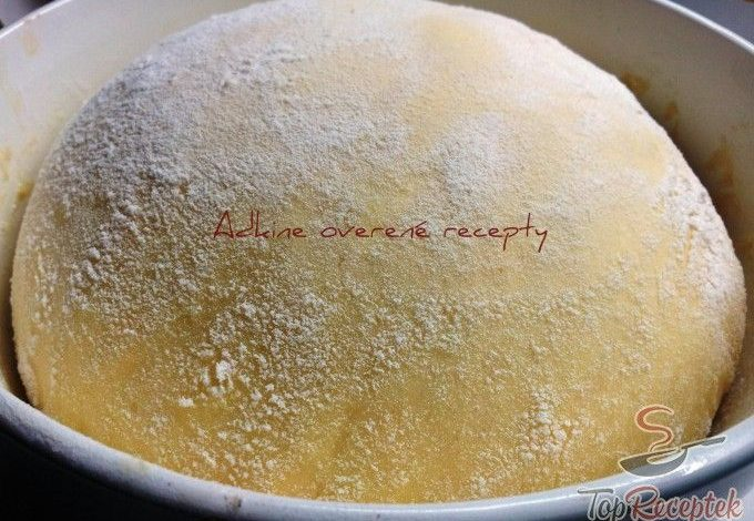 Fantastické univerzální kynuté těsto na koláče, buchty nebo koblihy