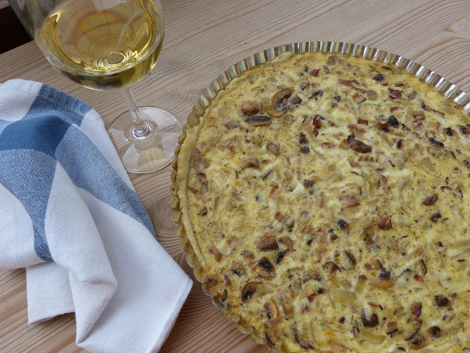 Rychlovka: Recept na slaný francouzský koláč Quiche