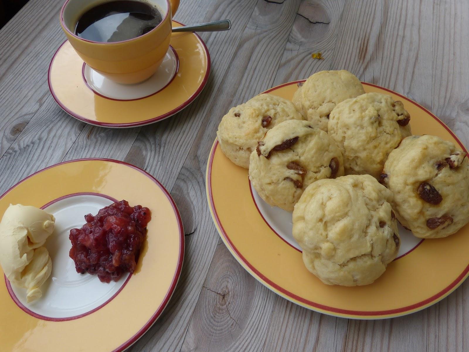 Anglické buchtičky scones: Nejen k snídani, ke kávě…