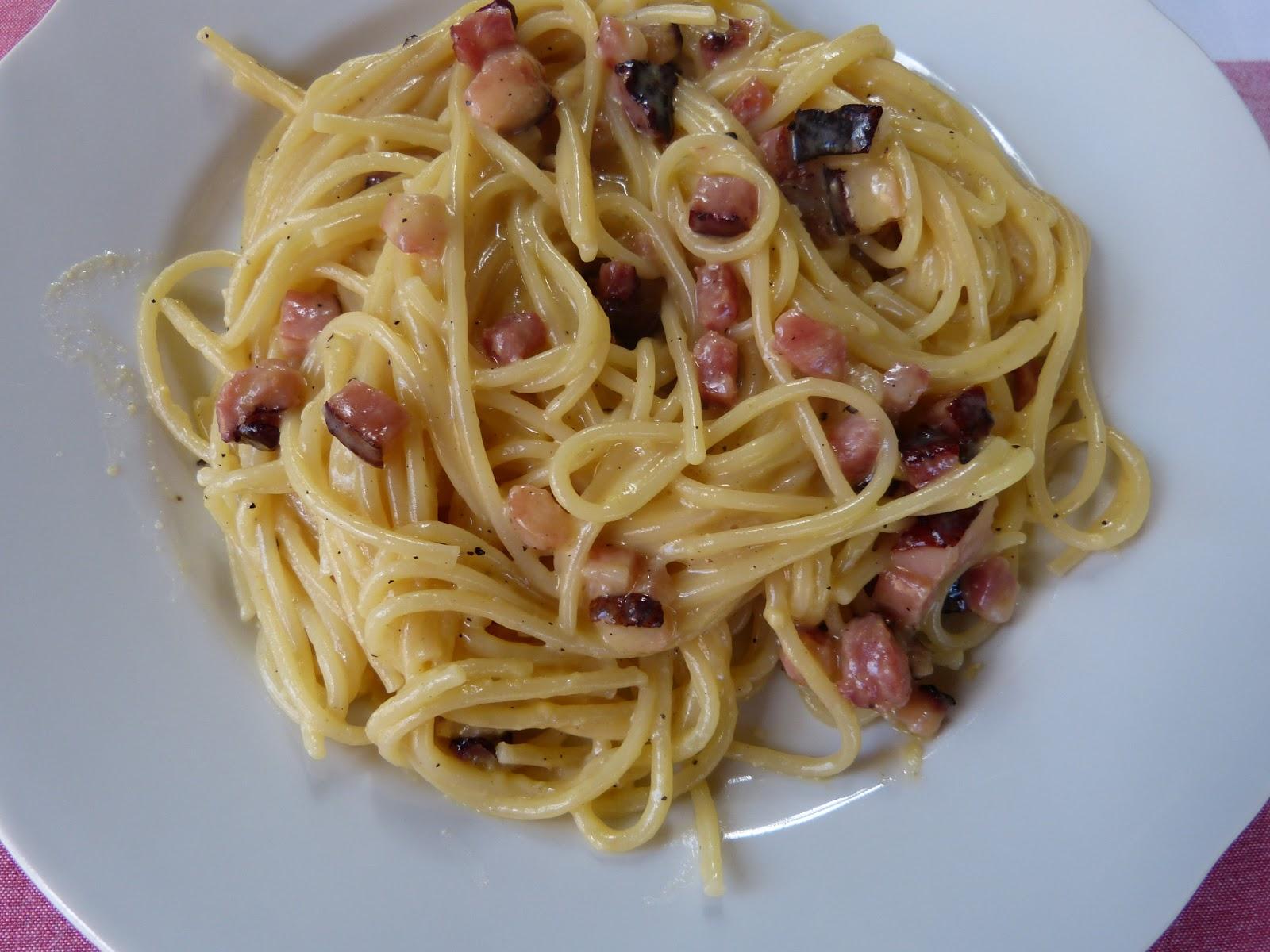 Italská klasika: Špagety alla carbonara, tedy uhlířské!