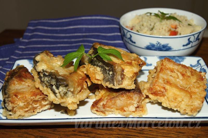 Recept na tempuru z kapra