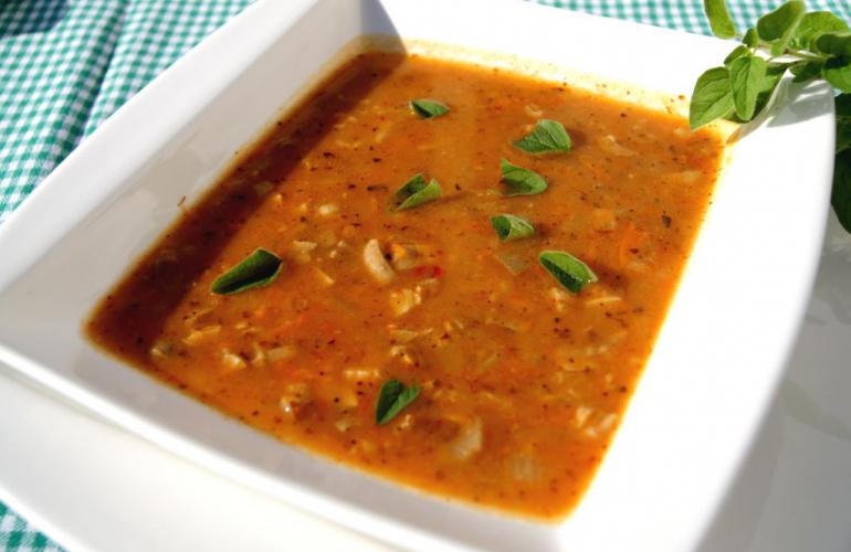 Recept na dršťkovou polévku z vepřového žaludku