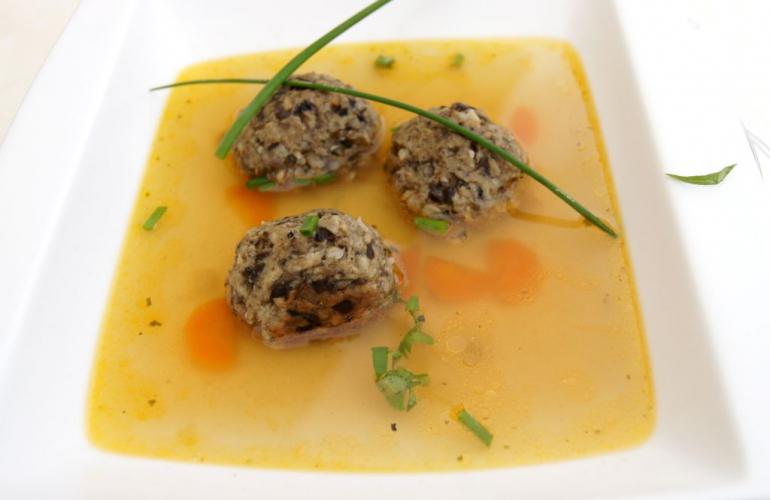 Recept na houbové knedlíčky do polévky