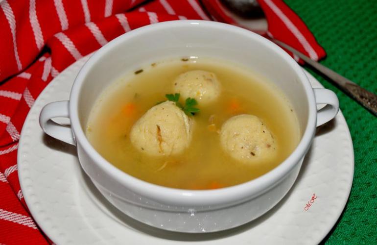 Recept na kachní kaldoun – polévku z kachních drobů