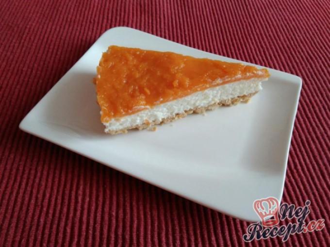 Meruňkový koláč s tvarohovým krémem