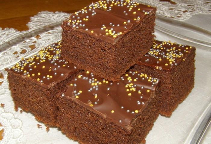 Hrnkový kakaový koláček našich babiček