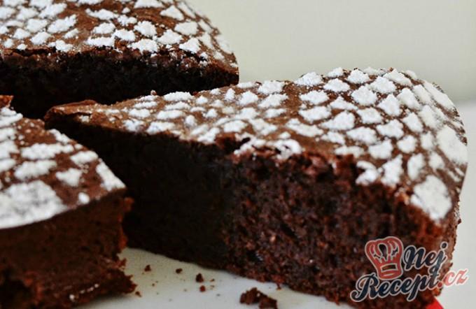 Čokoládový dort bez použití mouky