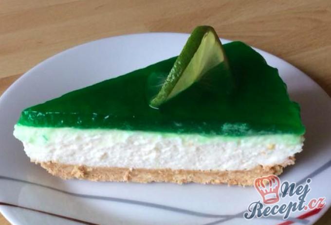 Fantastický cheesecake s limetkou