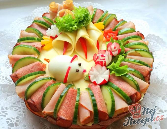 Slaný dort k narozeninám