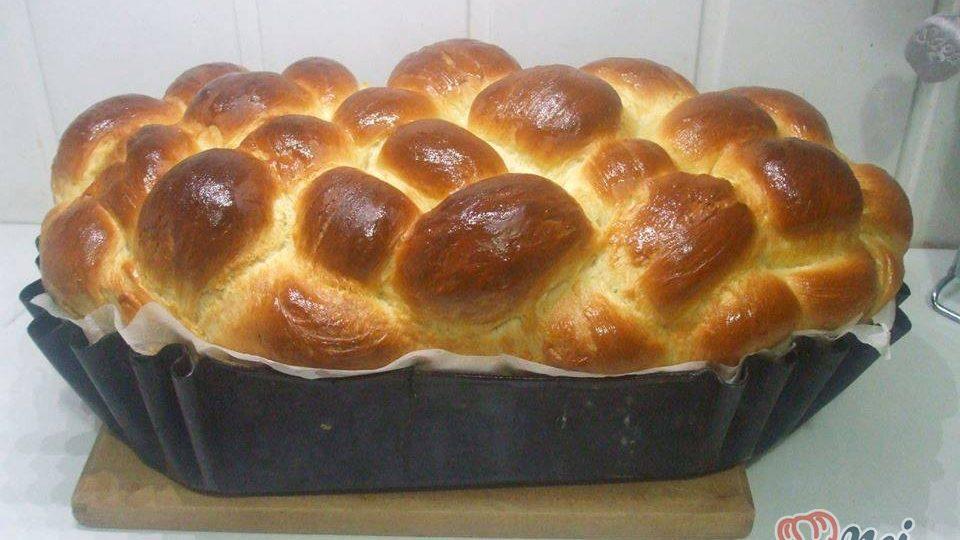 Velikonoční koláč u nás nazývaný Pascha