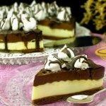NEPEČENÝ cheesecake s nutelou a mascarpone krémem