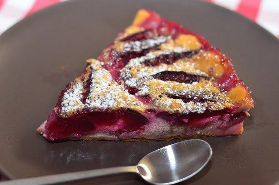 Švestkový koláč s vanilkovou vůní