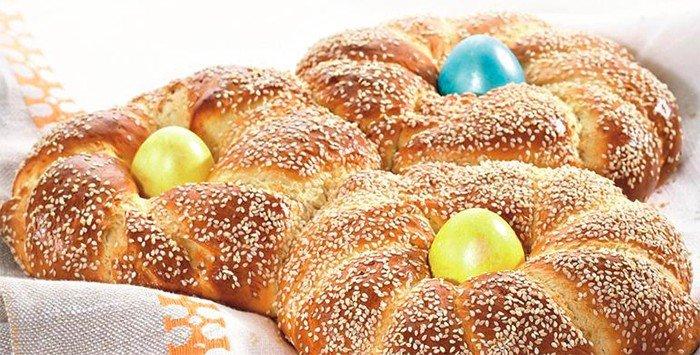 Velikonoční řecké pletýnky