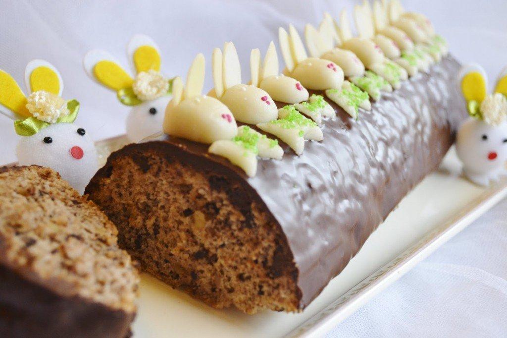 Ořechově čokoládový srnčí hřbet ve velikonočním provedení