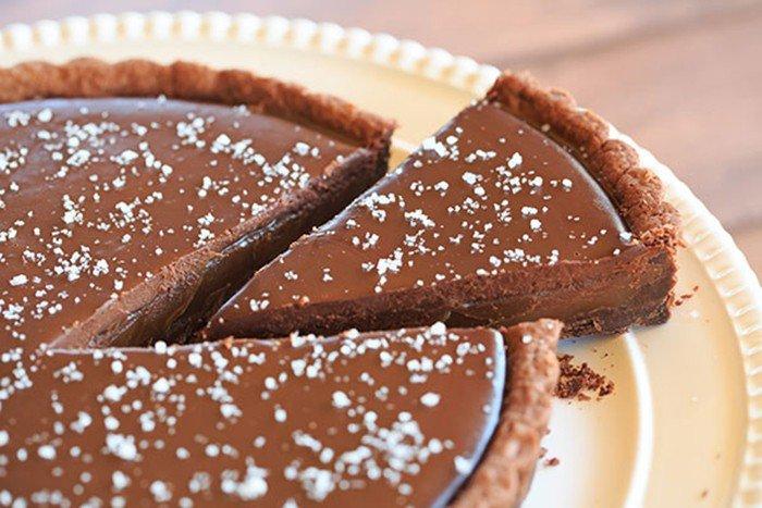 Karamelový dort s kvalitní čokoládou