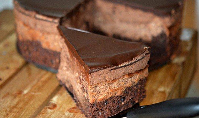 Čokoládová extáze bez mouky