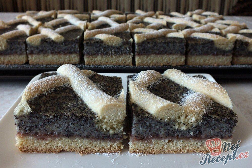Makový mřižák – klasický makový koláček trochu jinak