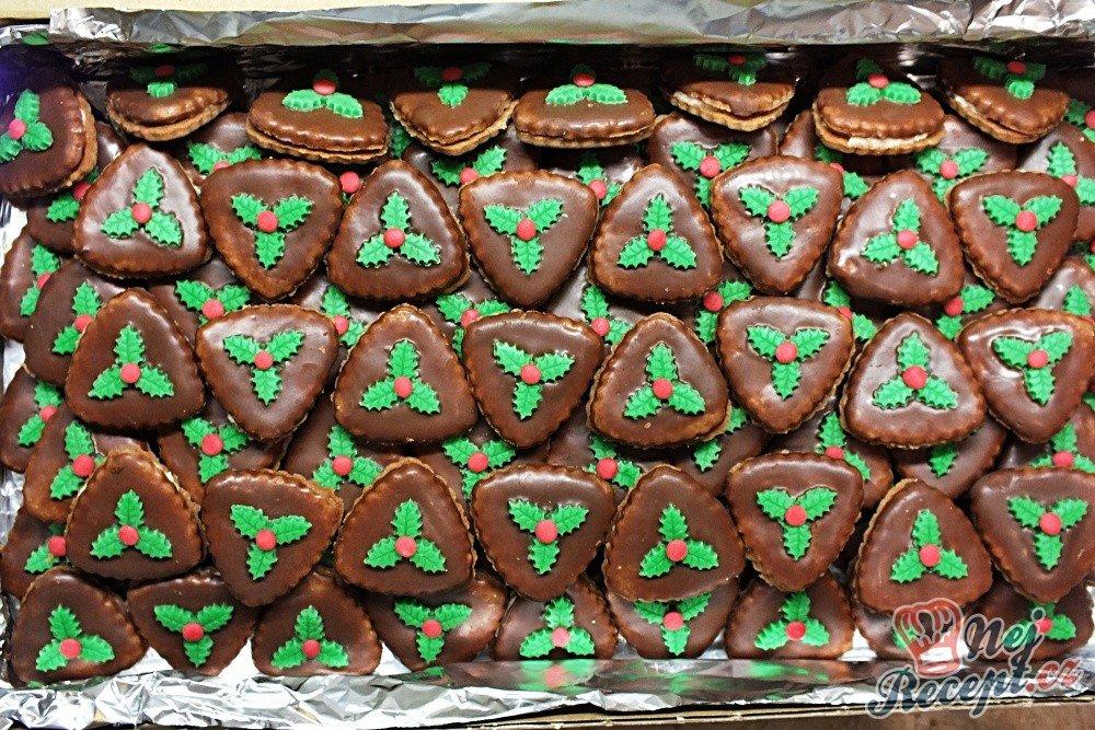 Kokosové vánoční dortíčky